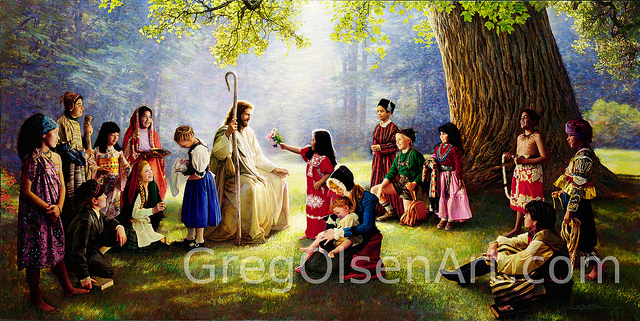 Children of the World, by Greg Olsen